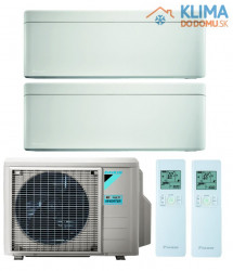 Multisplit DAIKIN (2,5 / 2,5 kW) Stylish + Stylish - FTXA25AW/FTXA25AW + 2MXM40M
