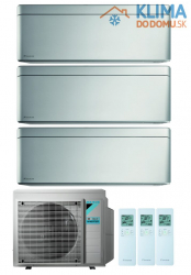 Multisplit DAIKIN (3,5/ 2,0 / 2,0 kW) Stylish + Stylish + Stylish - FTXA35AS/FTXA20AS/FTXA20AS + 3MXM52N